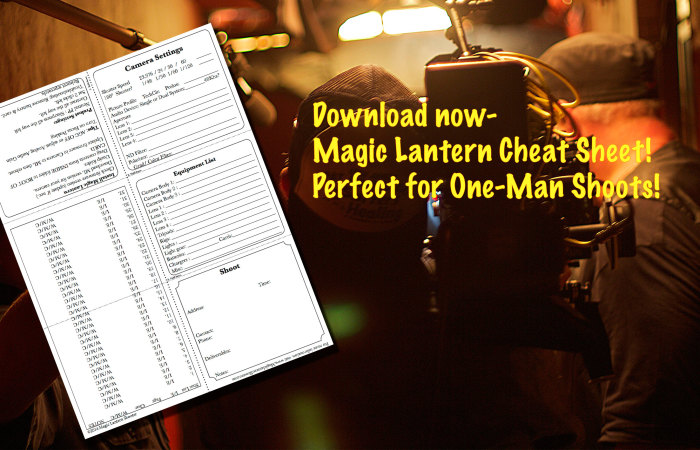 Free Download!  Magic Lantern Shooter Cheat Sheet